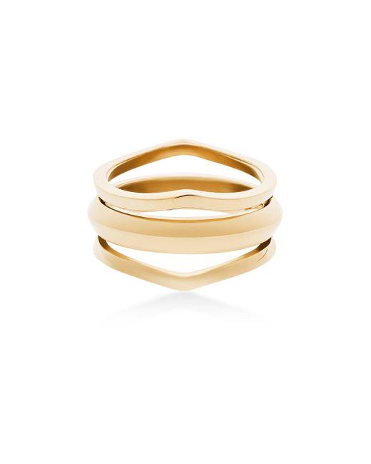 Michael Kors   Metallic Triple Open Ring   Lyst