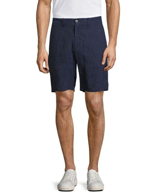 Vilebrequin   Blue Basic Pinstriped Shorts for Men   Lyst