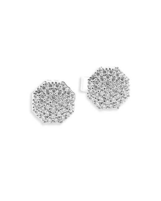 Phillips House | Hero Diamond & 14k White Gold Stud Earrings | Lyst