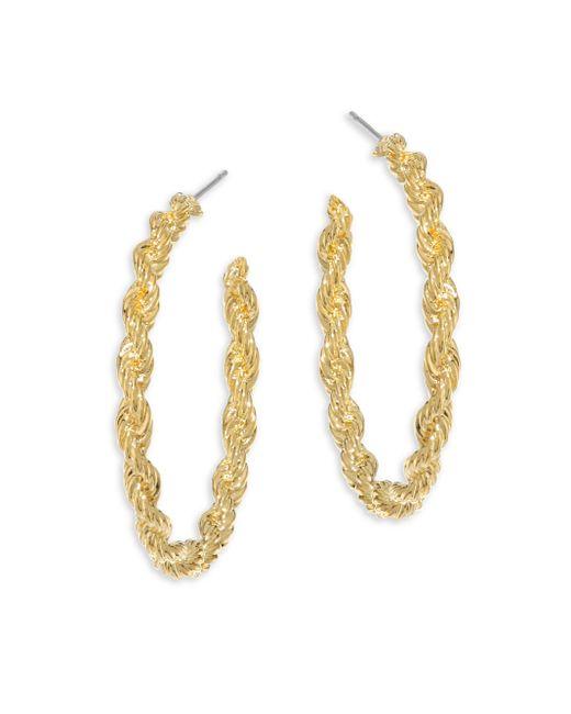 Vita Fede   Metallic Nora Twisted Hoop Earrings/1.25   Lyst