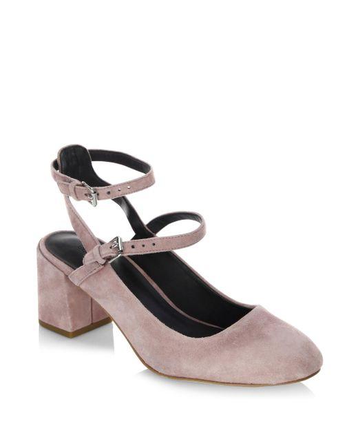 Rebecca Minkoff | Multicolor Brooke Double-strap Block Heel Pumps | Lyst