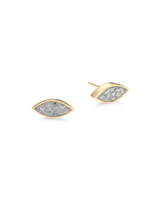 Shana Gulati | Metallic Banjara Nakiya Sliced Raw Diamond Stud Earrings | Lyst