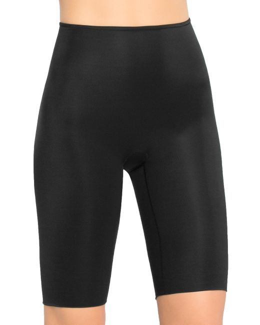 Spanx | Black Extended Length Power Panty | Lyst