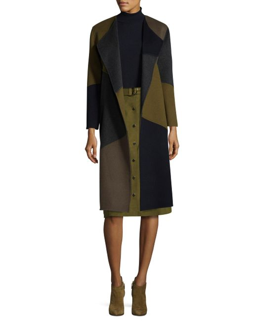 Lafayette 148 New York   Black Reversible Belisa Coat   Lyst
