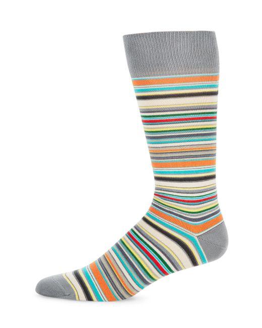 Paul Smith   Multicolor Stripe Mid-calf Socks for Men   Lyst