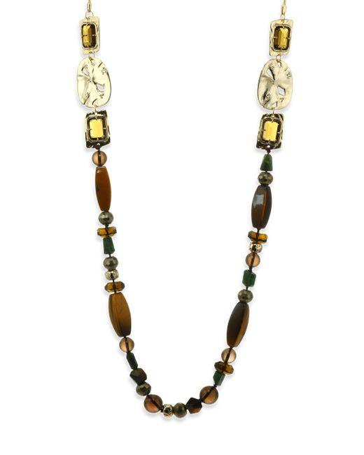 Alexis Bittar | Multicolor Elements Semi-precious Multi-stone Beaded Necklace/40 | Lyst