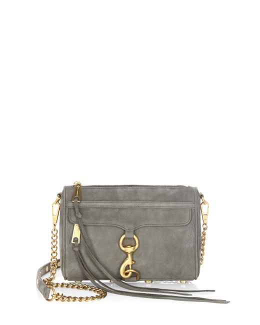 Rebecca Minkoff | Multicolor Mac Nubuck Leather Mini Bag | Lyst