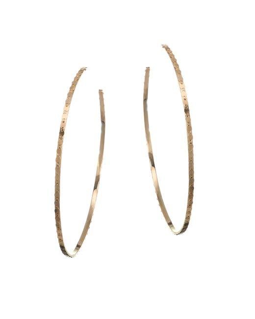 Lana Jewelry   Metallic 15-year Anniversary Small Nude Glam Magic Hoop Earrings/2.6   Lyst