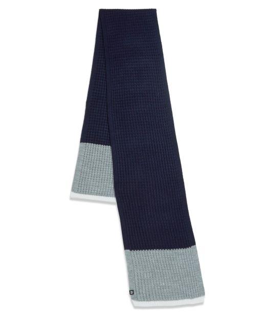 Block Headwear | Blue Waffle Stripe Scarf | Lyst
