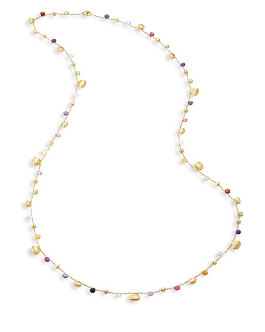 Marco Bicego | Metallic Paradise Semi-precious Multi-stone Graduated Long Necklace/36 | Lyst