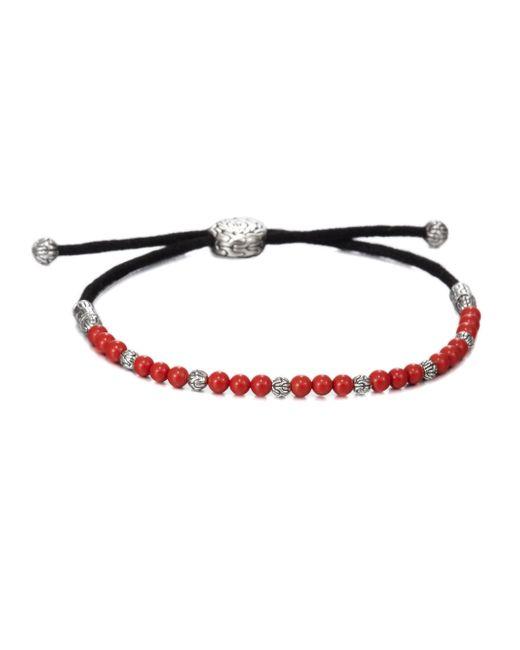 John Hardy   Black Beaded Cord Bracelet   Lyst