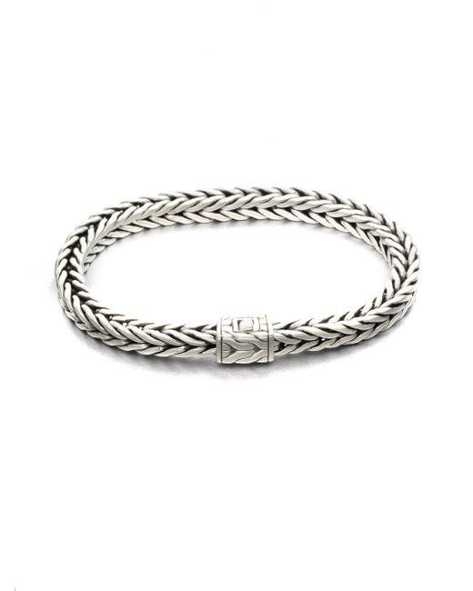 John Hardy | Metallic Squared Chain Bracelet | Lyst