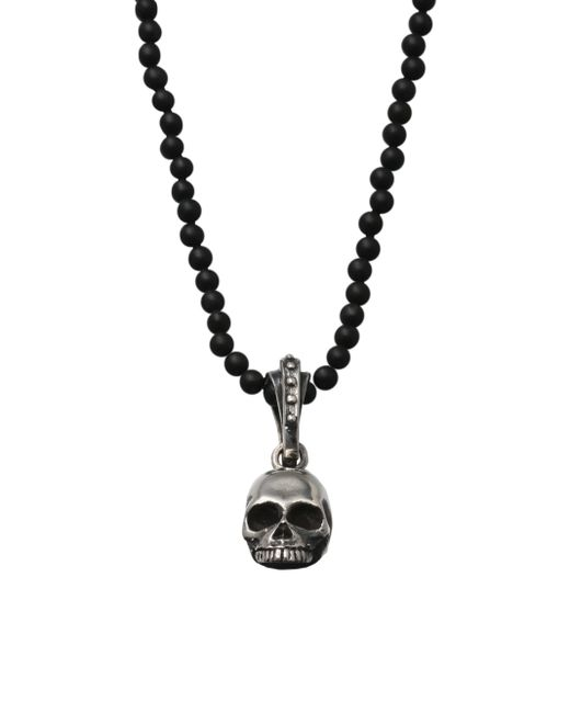 King Baby Studio | Metallic Hamlet Skull Beaded Necklace for Men | Lyst