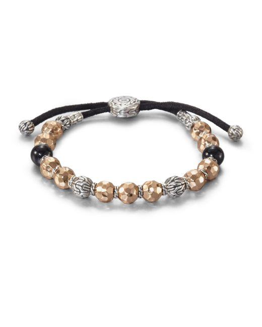 John Hardy | Metallic Palu Beaded Bracelet for Men | Lyst