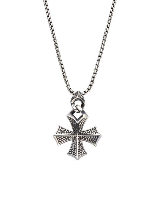 Stephen Webster | Metallic Sterling Silver Cross Necklace for Men | Lyst