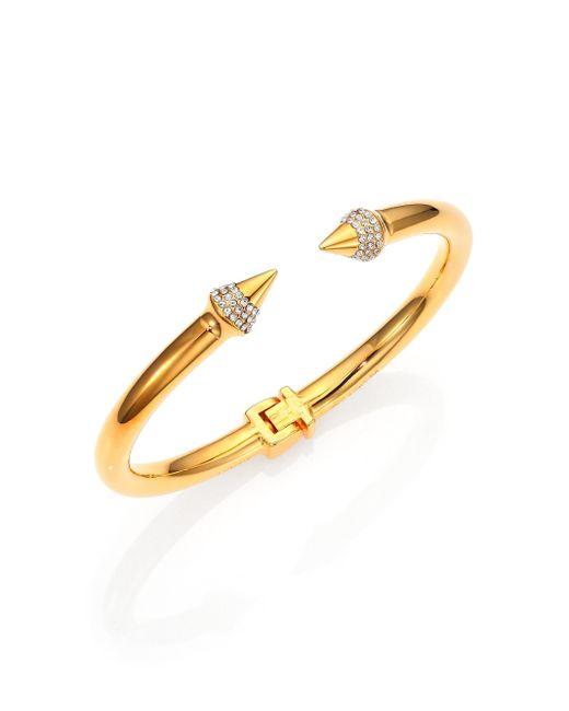 Vita Fede | Metallic Mini Titan Crystal Bracelet/goldtone | Lyst
