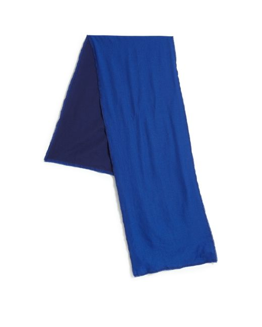 Saks Fifth Avenue | Blue Two-tone Scarf for Men | Lyst