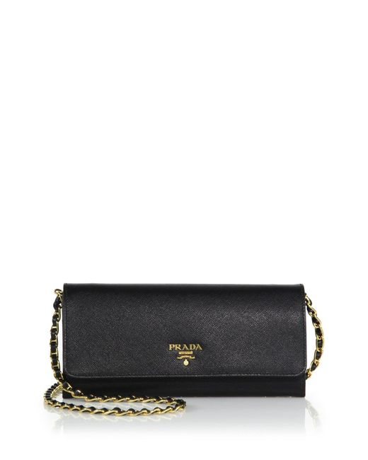 2b3c1c12b706 Prada Saffiano Metal Wallet On Chain Sling | Stanford Center for ...