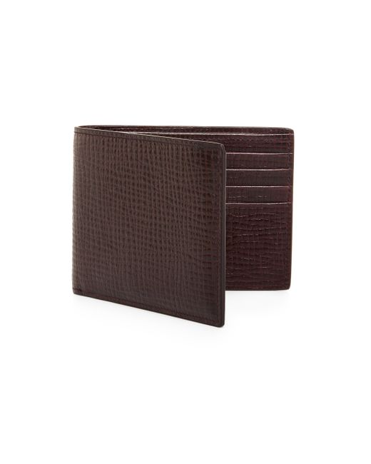 Jil Sander | Red Leather Pocket Wallet for Men | Lyst