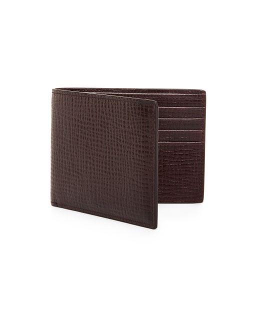 Jil Sander | Red Leather Pocket Wallet for Men | Lyst