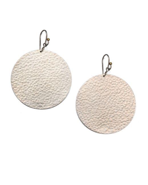 Gurhan | Metallic Lush Sterling Silver Flake Drop Earrings | Lyst