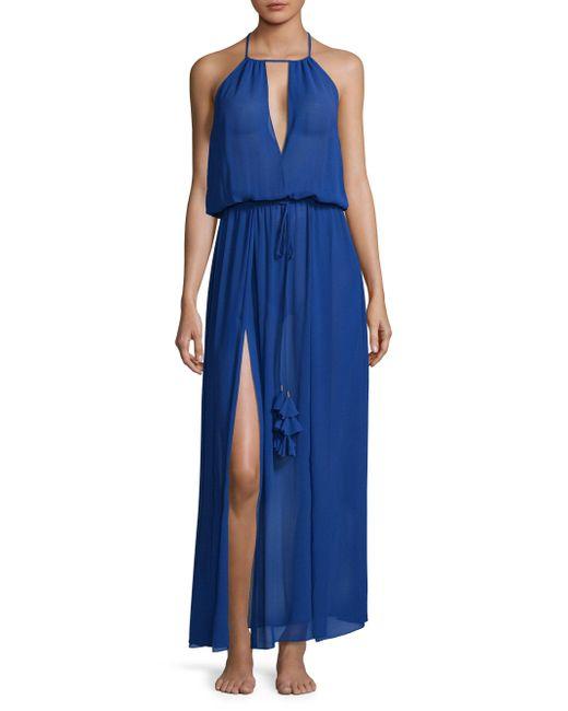 Ramy Brook   Blue Justina Cutout Dress   Lyst