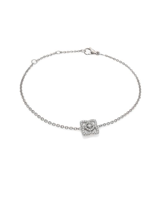 De Beers | Enchanted Lotus Diamond & 18k White Gold Chain Bracelet | Lyst