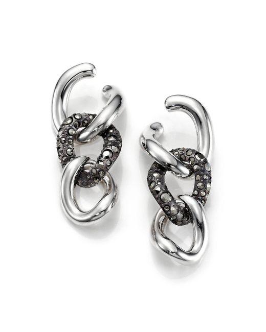 Pomellato   Metallic O.b3181ma/a Gourmette Earrings   Lyst