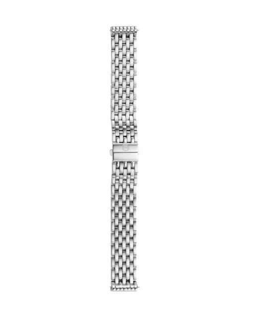 Michele Watches | Metallic Deco 16 Stainless Steel Seven-link Watch Bracelet | Lyst