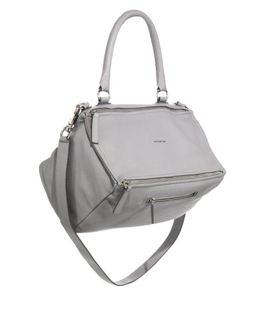 Givenchy | White Pandora Medium Leather Shoulder Bag | Lyst