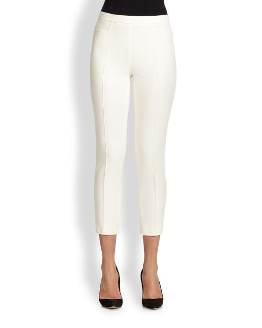 Akris Punto | Natural 1400 Techno Cotton Franca Pants | Lyst