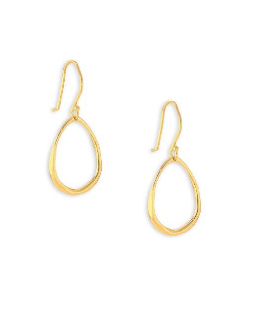 Ippolita | Metallic Glamazon 18k Yellow Gold Mini Squiggle Oval Drop Earrings | Lyst