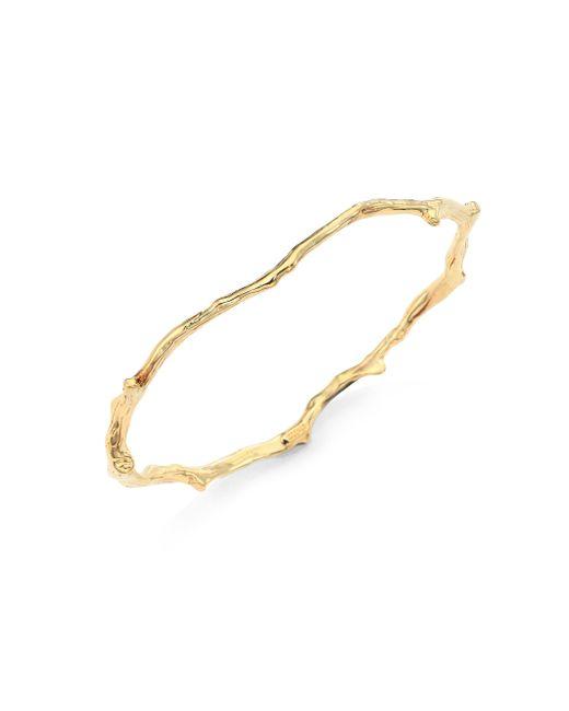 Ippolita | Metallic Glamazon 18k Yellow Gold Reef Bangle Bracelet | Lyst