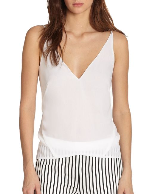 J Brand | White Lucy Camisole | Lyst