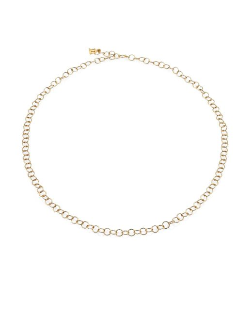 Temple St. Clair | Metallic 18k Yellow Gold Round Link Necklace Chain/24 | Lyst