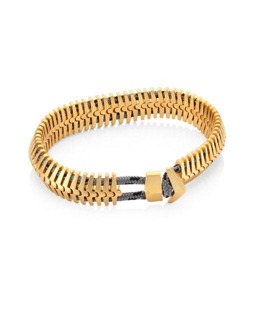 Miansai - Metallic Brass Klink Bracelet for Men - Lyst