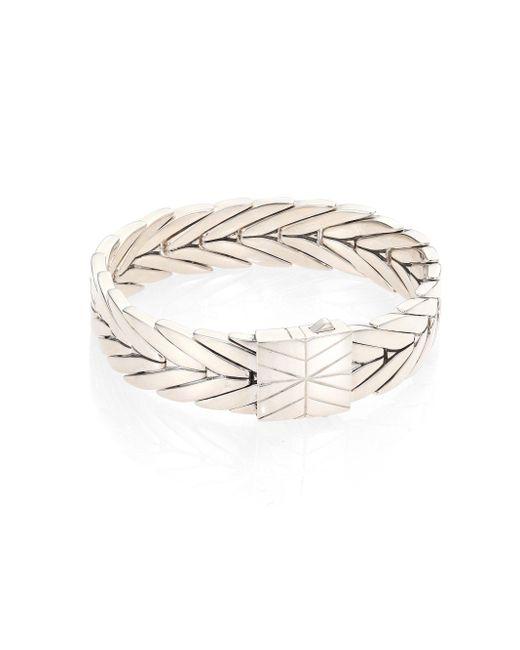 John Hardy - Metallic Modern Chain Sterling Silver Medium Bracelet - Lyst