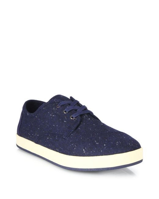 TOMS | Blue Paseo Low-top Canvas Sneakers for Men | Lyst