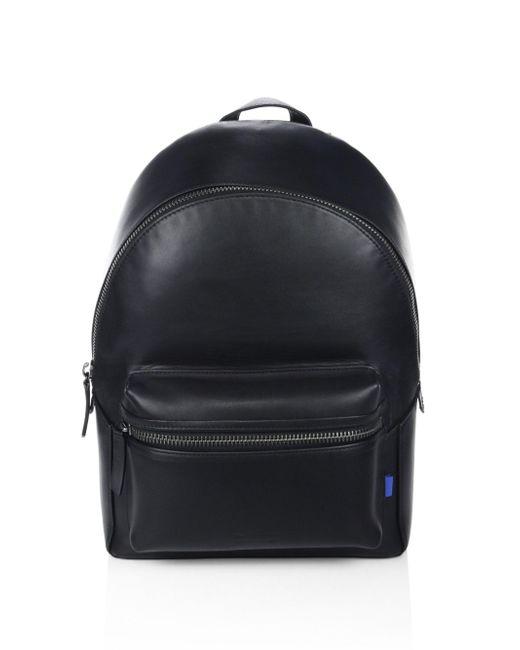 Uri Minkoff - Black Paul Leather Backpack for Men - Lyst