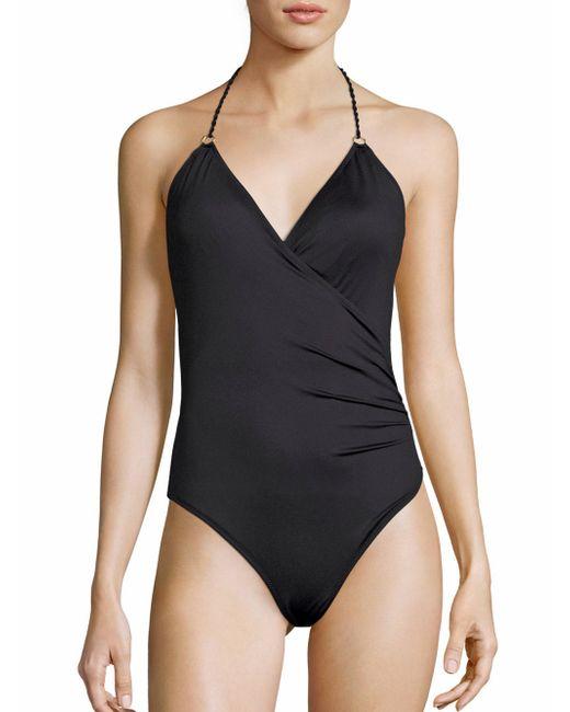 Lazul   Black Caelia Greta One-piece Swimsuit   Lyst