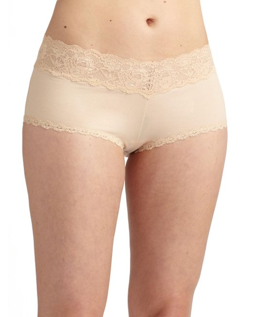 Cosabella | Natural Never Say Never Ultra-stretch Boyshorts | Lyst