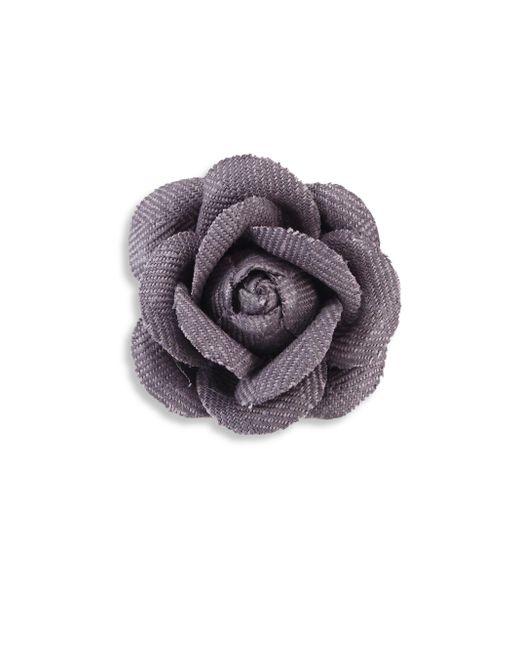 Hook + Albert | Multicolor Woven Lapel Flower | Lyst