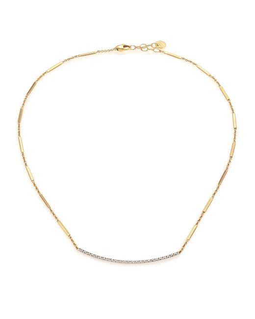 Marco Bicego | Metallic Goa Pave Diamond, 18k Yellow Gold & 18k White Gold Necklace | Lyst
