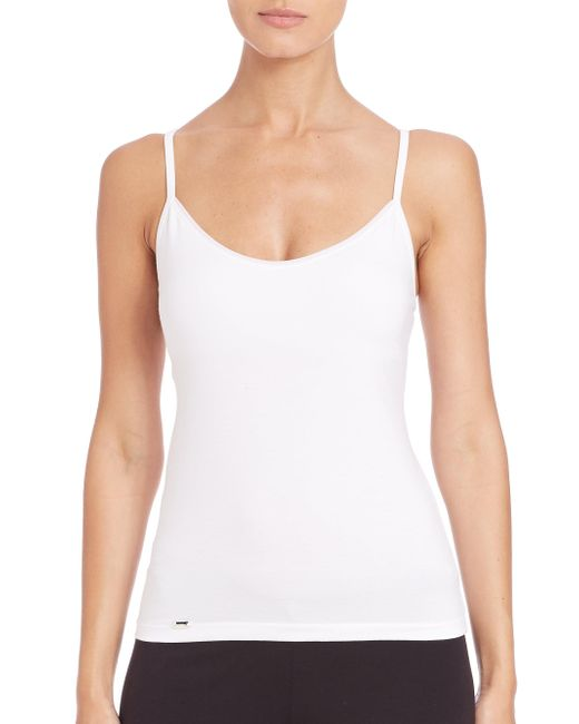 La Perla - White New Project Tank - Lyst