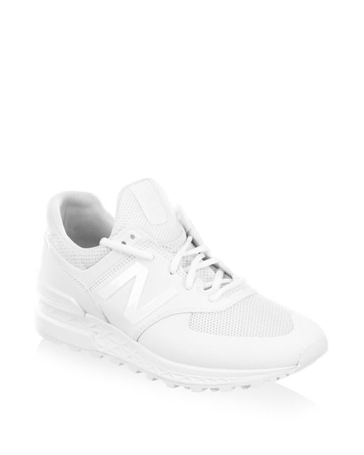 New Balance - White 574 Sport Sneakers for Men - Lyst