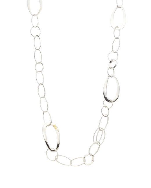 Ippolita - Metallic Glamazon Scultura Sterling Silver Cherish Chain Necklace - Lyst