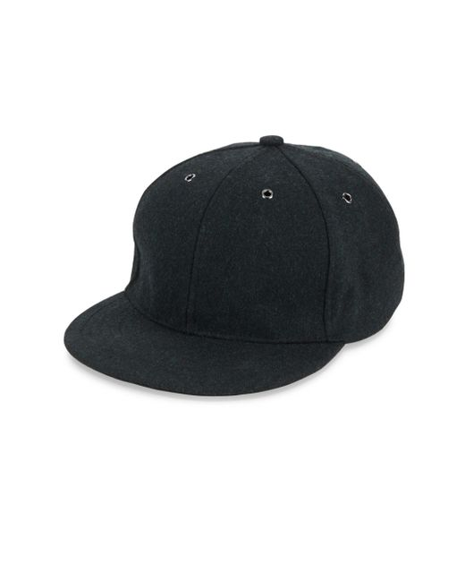 Paul Smith | Multicolor Crown Button Wool & Leather Baseball Cap for Men | Lyst