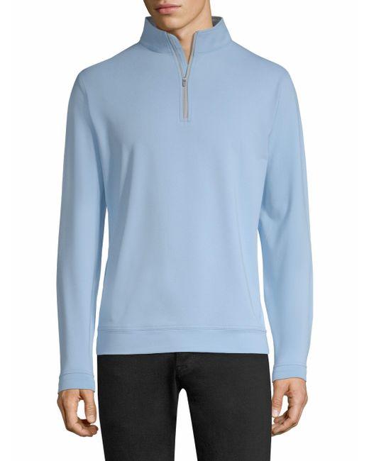 Peter Millar - Blue Perth Sweatshirt for Men - Lyst