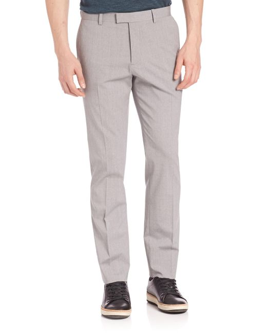 Theory | Gray Straight Leg Pants for Men | Lyst