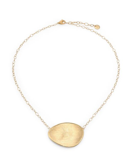 Marco Bicego - Metallic Lunaria 18k Yellow Gold Pendant Necklace - Lyst